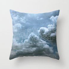 Wonder Cloud Throw Pillow