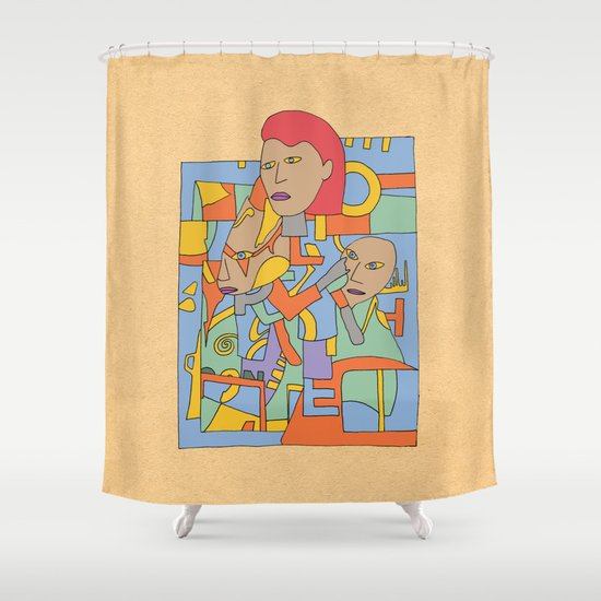 - the believer - Shower Curtain