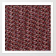 Barrel Of Monkeys Patter… Art Print
