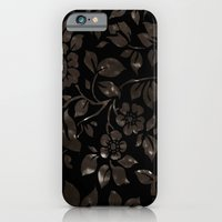 floral grunge iPhone 6 Slim Case