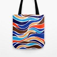 Waterfall of colors Tote Bag
