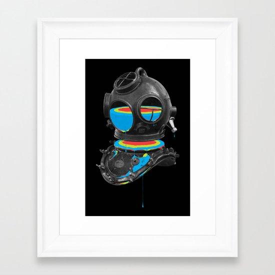 Diver No.12 Framed Art Print