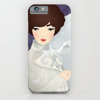 iPhone & iPod Case featuring The Wings of the Dove: Violet by Jenny Lloyd Illustration
