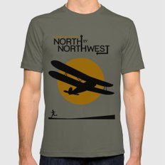 North by northwest Mens Fitted Tee Lieutenant SMALL