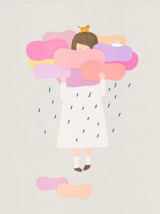 The sweet clouds Art Print