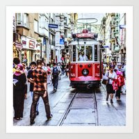 Istanbul Travel Diary 06 Art Print