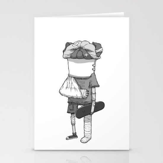 That pug. Stationery Card