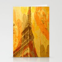 eiffel Stationery Cards featuring Eiffel by 3crows