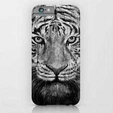 Tiger Black & White iPhone 6 Slim Case