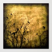 The Raven's Song Canvas Print