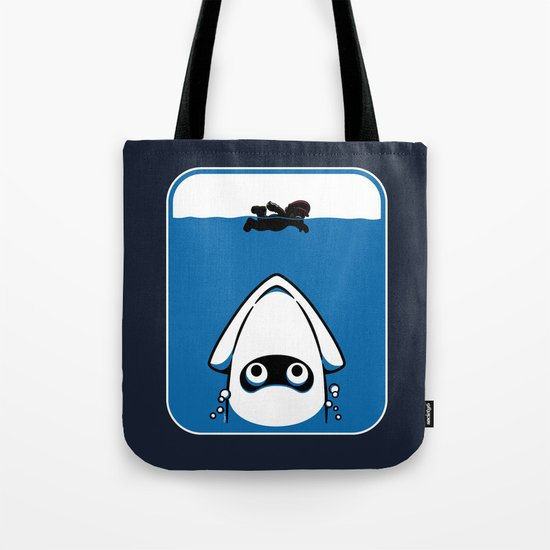 The Great White Blooper Tote Bag