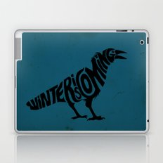 The three-eyed crow Laptop & iPad Skin