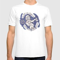 Insterstellar  Mens Fitted Tee White SMALL