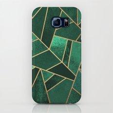 Emerald and Copper Galaxy S6 Slim Case