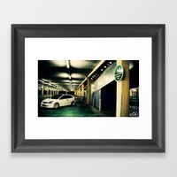 Honda Civic Framed Art Print