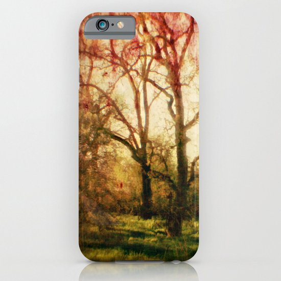 The trees whispered to me iPhone & iPod Case