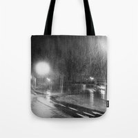 Not night for bikers Tote Bag