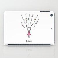 LOVE by ISHISHA PROJECT iPad Case