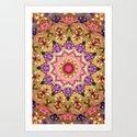 Godess Mandala Art Print