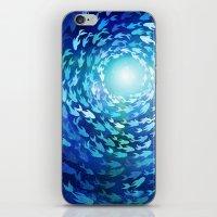 Aquatics iPhone & iPod Skin