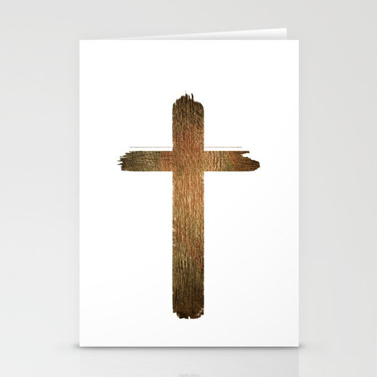 Cross Stationery Card