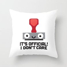 Nopetarized Throw Pillow
