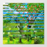Landscape Of My Heart (s… Canvas Print