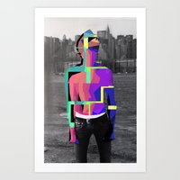 Boy Urban 2 Art Print