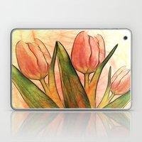 Tulips red Laptop & iPad Skin