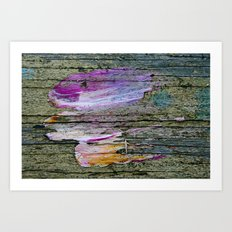 Parrot in flight Art Print