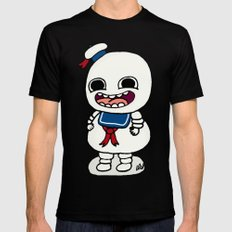 Stay Puft SMALL Black Mens Fitted Tee