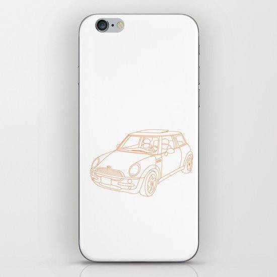 My Mini Cooper iPhone & iPod Skin
