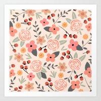 FLOWER FEST Art Print