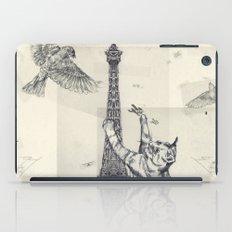 cat attack iPad Case
