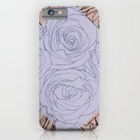 Art Nouveau Rose iPhone 6 Slim Case