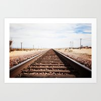 Long Road Home Art Print