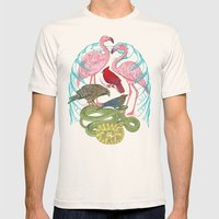 Wild Anatomy II Mens Fitted Tee Natural SMALL