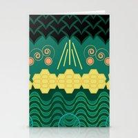 HARMONY pattern Stationery Cards