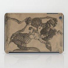 Dancing Mermaid and Skeleton iPad Case