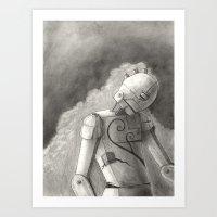 Echo Of Sorrow Art Print