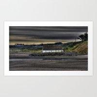 Cottage @ Laytown Beach Art Print