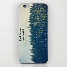 Where the.... ? iPhone & iPod Skin