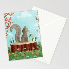 Woodland Friends - Squirrel Stationery Cards
