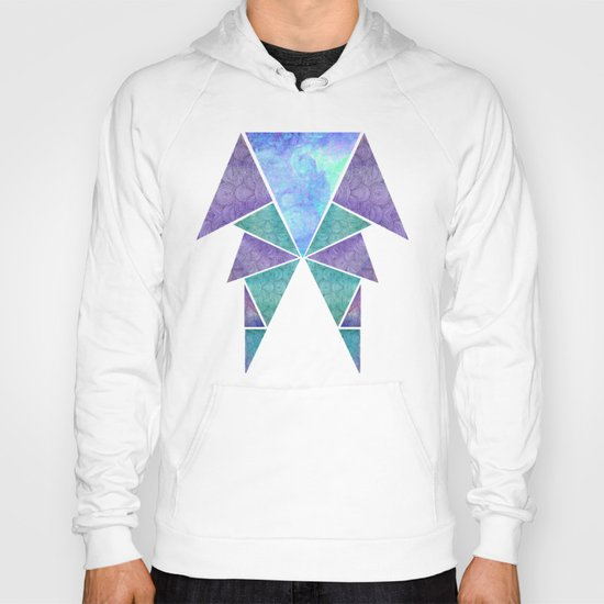 Geometric Reflection Hoody