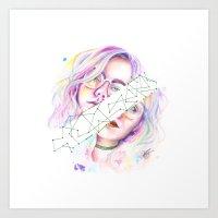 Kristína Art Print