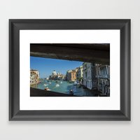 Grand Canal by Day Framed Art Print