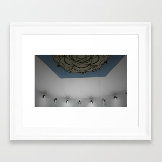 Subway to Know Cold Framed Art Print