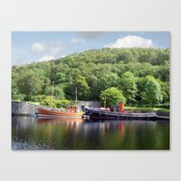 Clyde Puffers On The Cri… Canvas Print