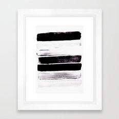 Stack V Framed Art Print