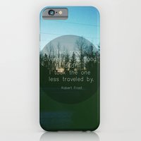 Two Roads (Text Version) iPhone 6 Slim Case